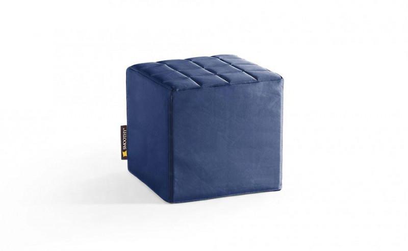 Smoothy Sitzwürfel Blau