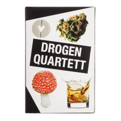 Drogen Quartett - Das Kartenspiel rund um die bekanntesten Rauschgifte