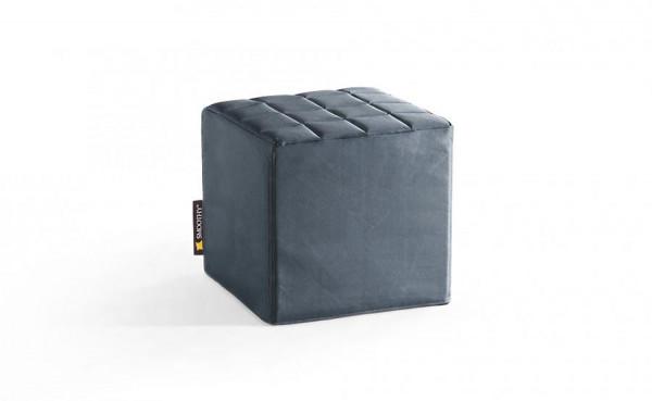 Smoothy Cube Lounge Sitzwürfel Grau