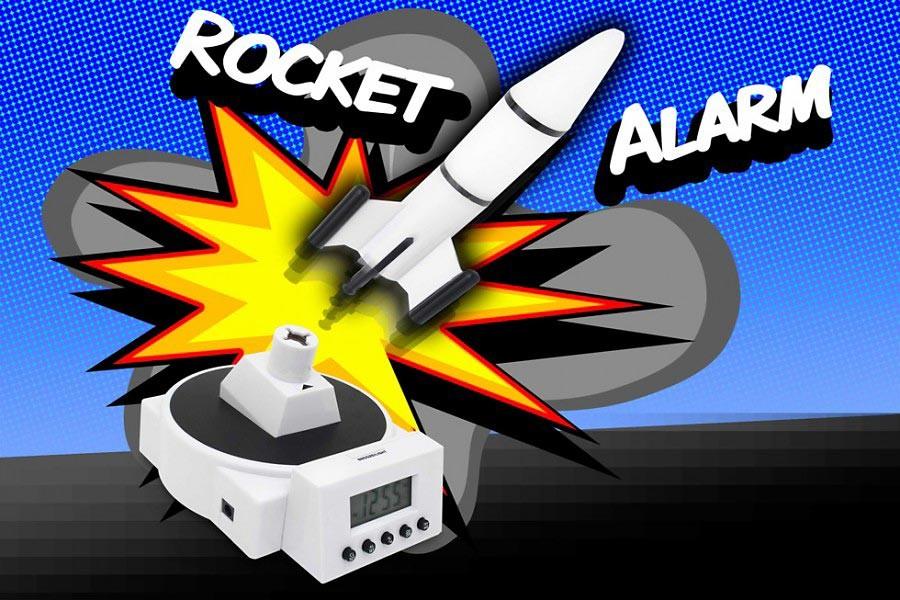 Fliegender Raketen Wecker » 24h Versand » günstig kaufen!