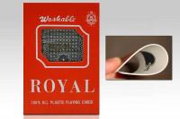 Kunststoff Pokerkarten - Original Plastikkarten von Royal