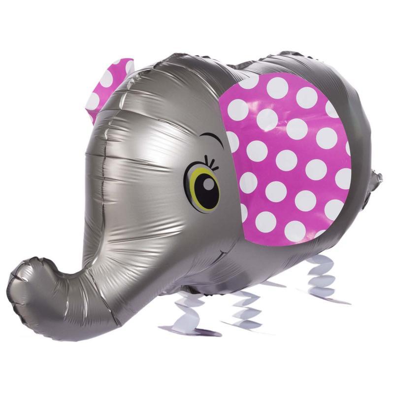 Air Walker Folienballon Elefant