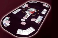 Pokerauflage XXL - Profi Tisch-Auflage für Poker 165x80cm