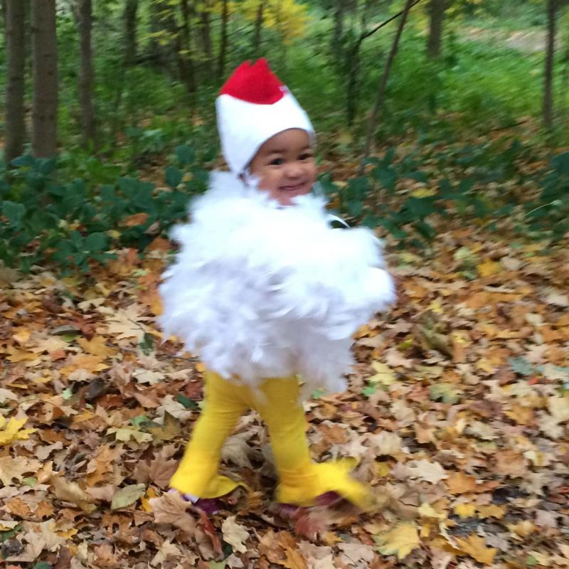 Huhn Kostüm für Kinder