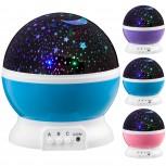 LED Star Light - Sternen-Projektor als Sternen LED Nachtlicht