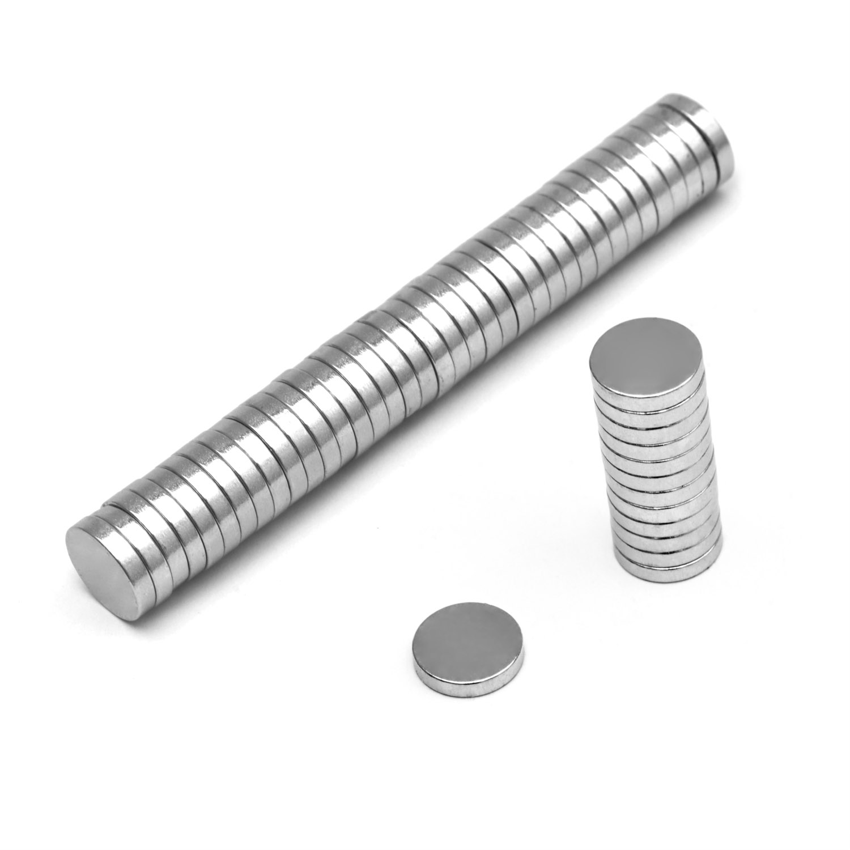 neodym magnete mini 50 st ck magnete 10x2mm. Black Bedroom Furniture Sets. Home Design Ideas