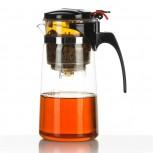Profi Teezubereiter mit Knopf - Der Teebereiter für perfekten Trinkgenuss