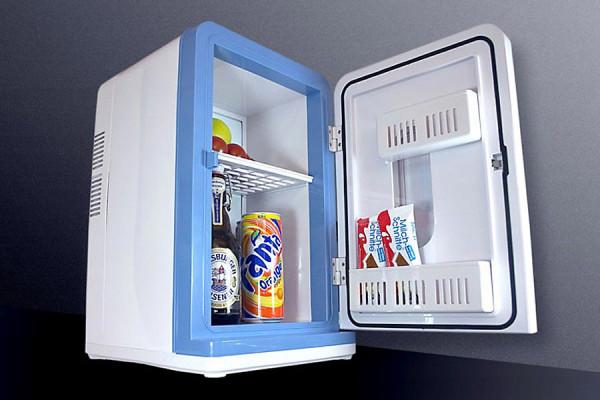 mini k hlschrank 16l mit 12v 230v 24h shop g nstig. Black Bedroom Furniture Sets. Home Design Ideas