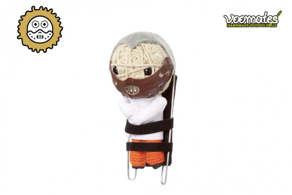 Voodoo Puppe - Voodoopuppe zum Sammeln - Strait Jacket Psycho