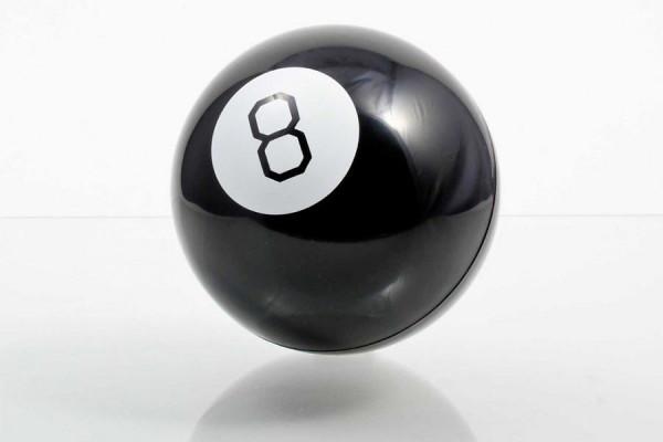 Kristallkugel - Mystic 8-Ball Wahrsagekugel - Geheimshop.de