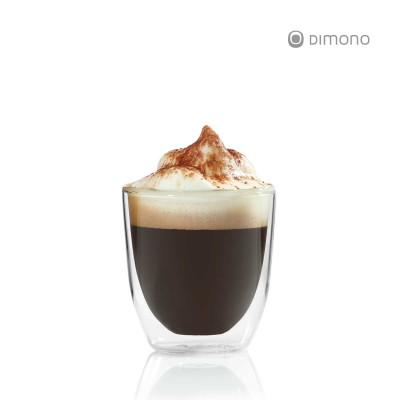 Doppelwandiges Espressoglas von Dimono