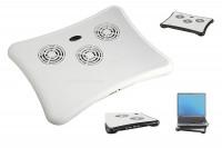 Notebookkühler mit 4 USB Anschlüsse » 24h » günstig kaufen!