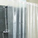 Duschvorhang  - transparente Duschvorhänge  - Geheimshop.de