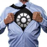 LED T-Shirt - Leuchtendes IronMan Reactor Shirt  - Geheimshop.de