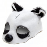 Panda Maske - Originalgetreue Pandamaske aus Latex