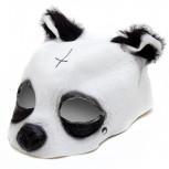 Maske - Pandamaske für Karneval & Halloween - Geheimshop.de