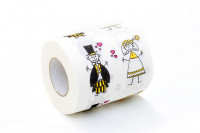 Hochzeit Toilettenpapier Just Married Klopapier