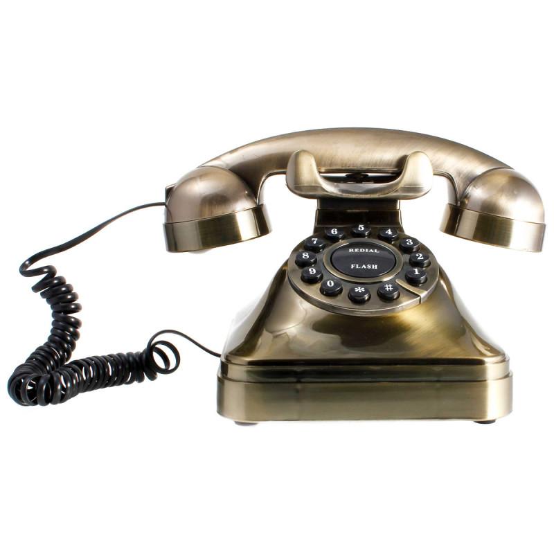 Retro Telefon Gold
