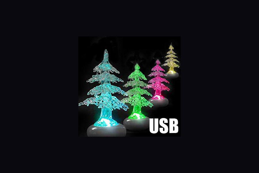 usb weihnachtsbaum beleuchtete deko f r weihnachten. Black Bedroom Furniture Sets. Home Design Ideas
