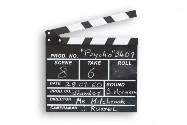 Filmklappe große Regisseurklappe Regieklappe