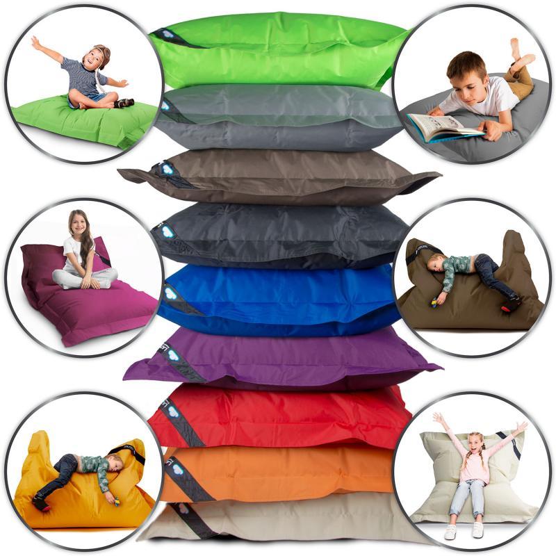 LazyBag Outdoor Sitzsack Junior - Wasserfestes Sitzkissen für Kinder