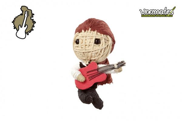 Voodoo Puppe - Voodoopuppe zum Sammeln - Guitar Legend