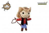 Voodoo Puppe - Voodoopuppe zum Sammeln - Cowboy