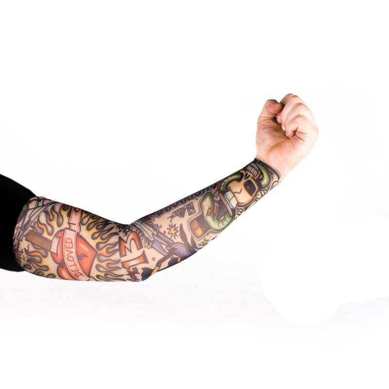 Tattoo Ärmel - Tattooärmel für Karneval & Party - Rocker