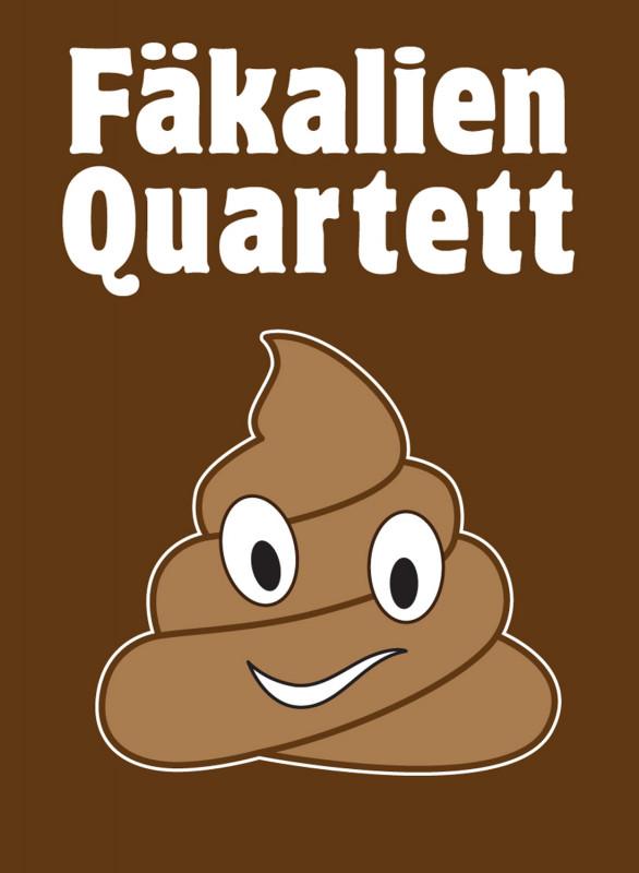 Kartenspiel Scheiße Fäkalien Quartett