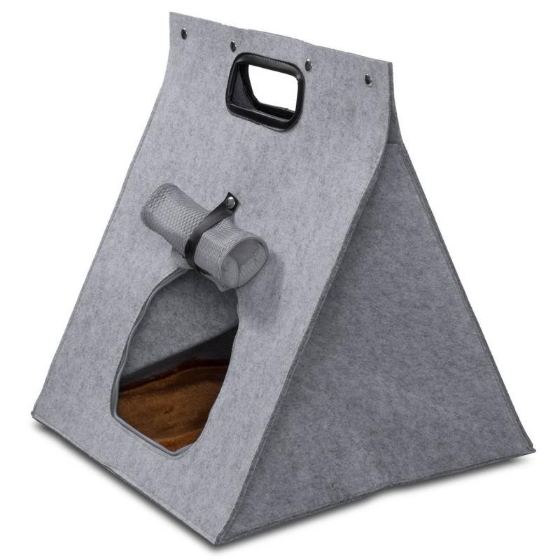 Tipi Zelt für Hunde aus Filz