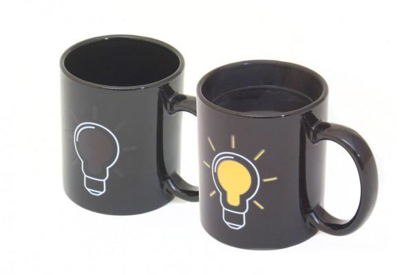 Becher mit Wärmeeffekt Glühbirnen Kaffeetasse