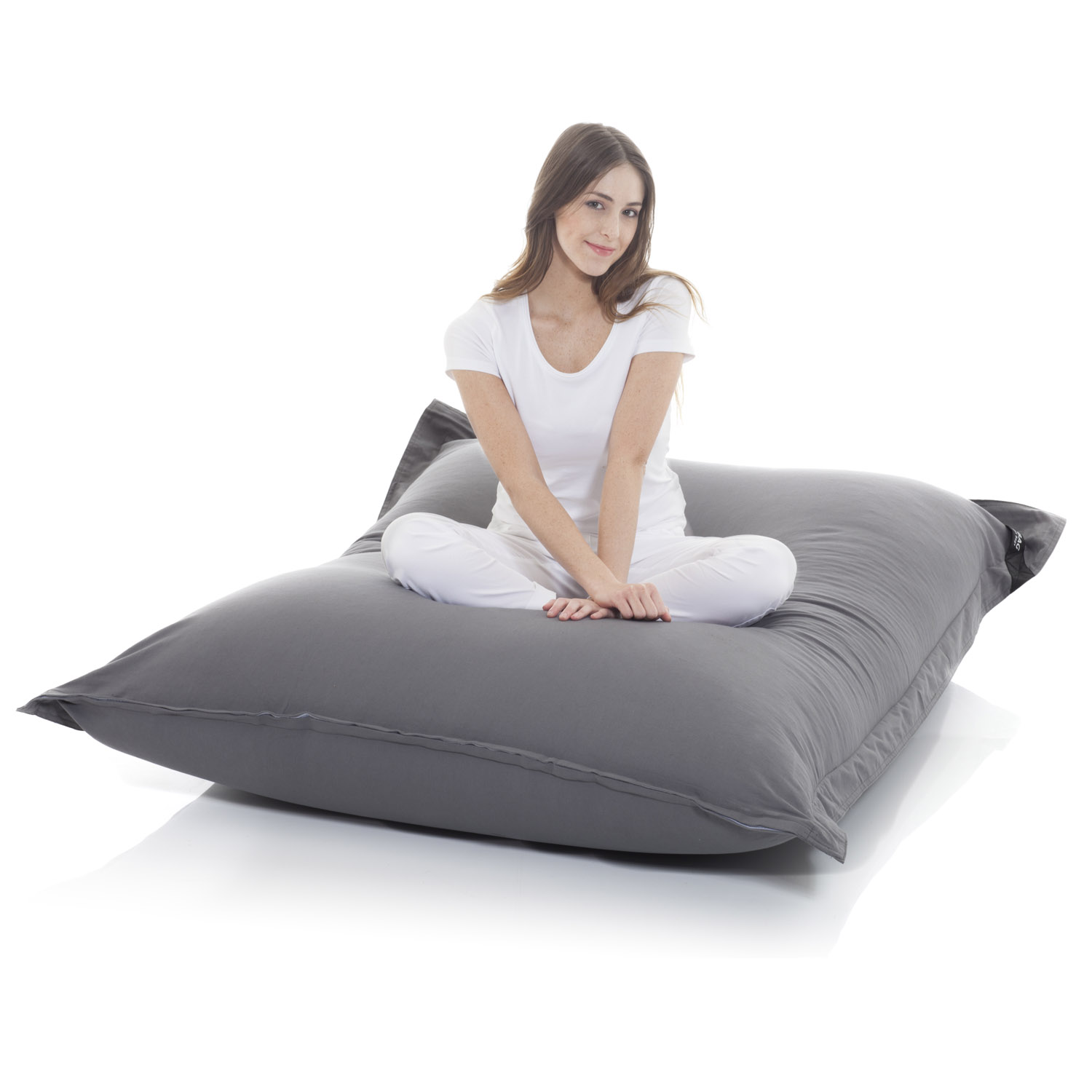 lazybag sitzsack wasserfestes xxl sitzkissen. Black Bedroom Furniture Sets. Home Design Ideas