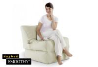 Smoothy Sitzsack - Sitzkissen Liege Lounge Folder - Creme