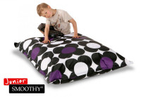 Sitzsack Nightflower Jr. in Schwarz-Lila