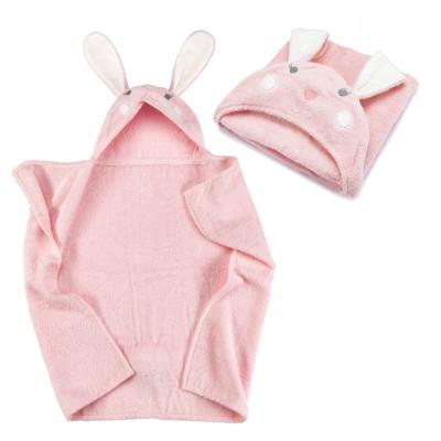 Kapuzenhandtuch - Baby Handtuch mit Kapuze - Hase