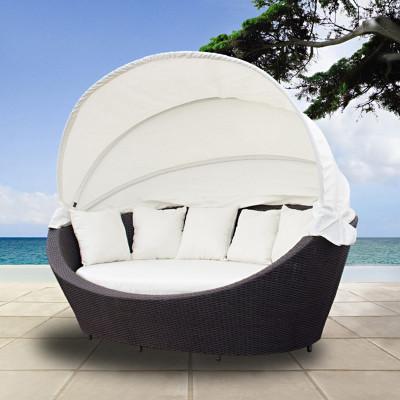 sonnenliege sonneninsel lounge aus polyrattan. Black Bedroom Furniture Sets. Home Design Ideas