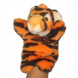 Handpuppe - Handspielpuppe aus Plüsch - Tiger