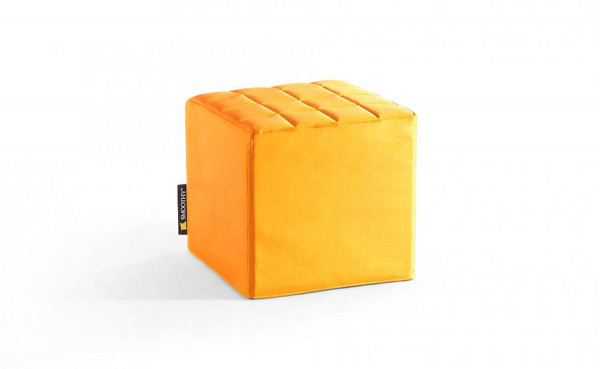 Smoothy Cube Lounge Sitzwürfel Orange