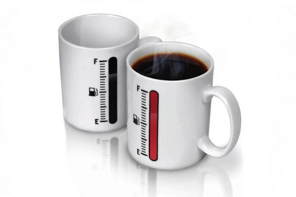 Tank-Up Kaffeetasse mit Füllstandsanzeige