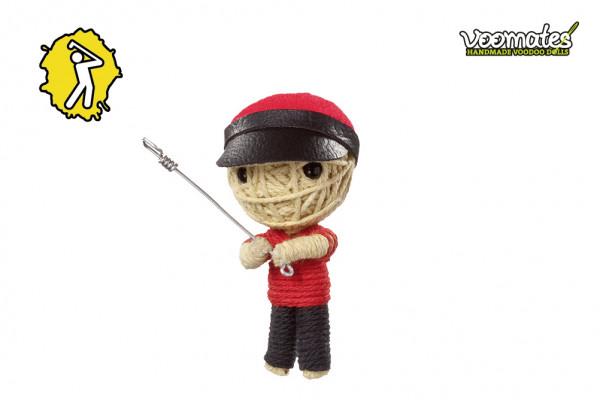 Voodoo Puppe Golf Pro Golfspieler Voomates Doll