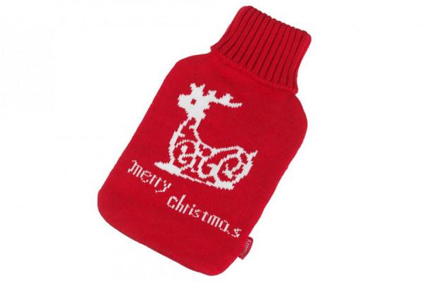 Wärmflaschen Bezug Merry Christmas Weihnachten