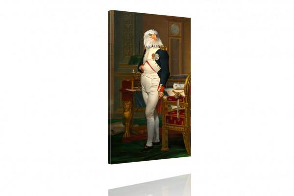 Kunstdruck: Gemälde mit Twist - General von Adler