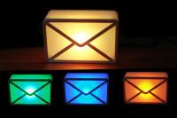 USB Mail Melder USB Webmail Notifier leuchtet bei e-Mails