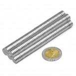Neodym-Magnete Mini 50 Stück Magnete 10x2mm