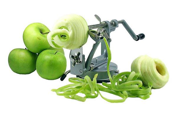 Apfelschäler Edelstahl - für perfekte Scheiben » Blitzversand!