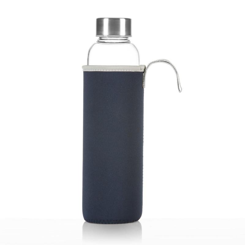 Trinkflasche von Dimono mit Neoprensleeve