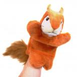 Handpuppe - Handspielpuppe aus Plüsch - Eichhörnchen