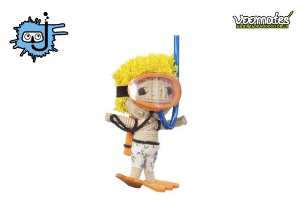 Voodoo Puppe - Voodoopuppe zum Sammeln - Scuba Joe Taucher
