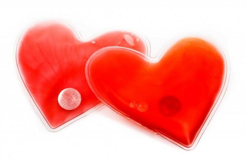 10 x Herz Handwärmer Taschenwärmer in Herzform