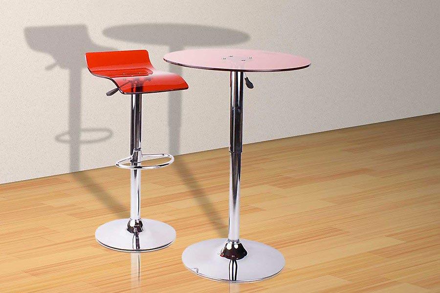 bartisch rot bestseller shop f r m bel und einrichtungen. Black Bedroom Furniture Sets. Home Design Ideas